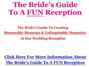 mc a wedding the bride s guide to a fun reception