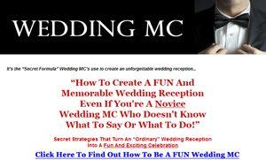 wedding mc speeches and duties advice